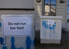Do not run too fast!